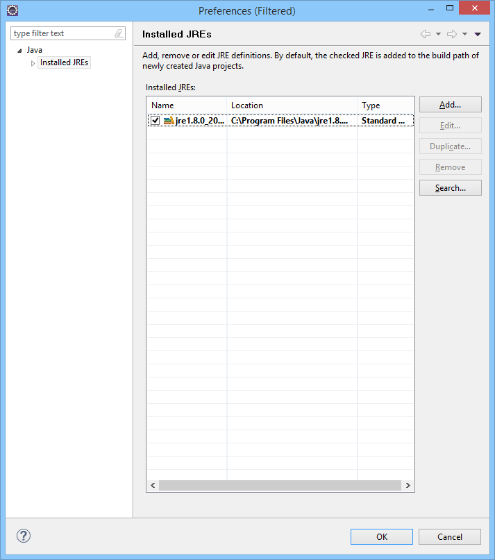 Setting up a Workspace in Eclipse for Desktop Application