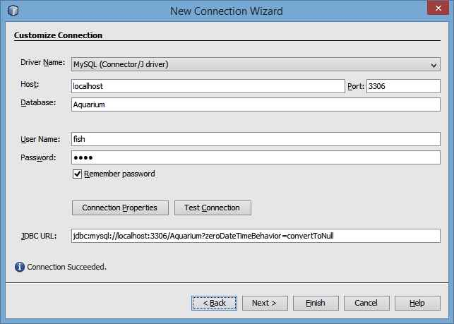 Configuring a MySQL JDBC Connection Pool and JDBC Resource for